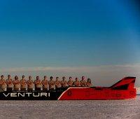 Venturi : nouveau record de vitesse