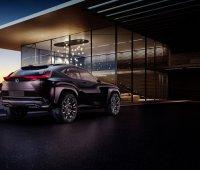 Concept Lexus UX : habitacle en 3D