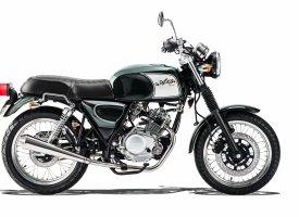 Orcal Astor 125 : nouveau coloris vert très british