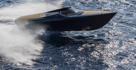 Le Yacht AM37 d'Aston Martin à Monaco