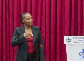 L'hommage appuyé de François Hollande à Christiane Taubira