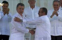 Colombie: l'accord de paix avec les Farc signé