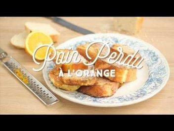 Recette Facile Du Pain Perdu A L Orange Cuisineaz Sur Orange Videos