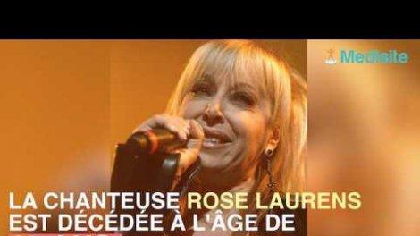La Chanteuse Rose Laurens Souffrait D Un Cancer Sur Orange Videos