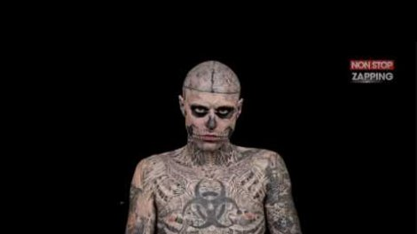 Zombie Boy La Seule Fois Ou On A Vu Rick Genest Sans Ses Tatouages