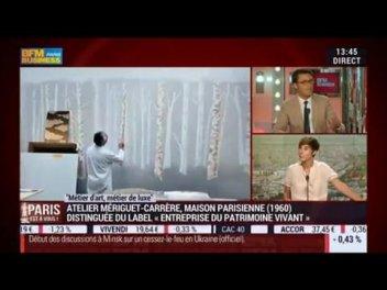 Metiers D Art Metiers De Luxe Atelier Meriguet Carrere Dans Paris