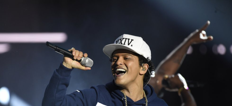 Bruno Mars annonce quatre dates en France en 2017