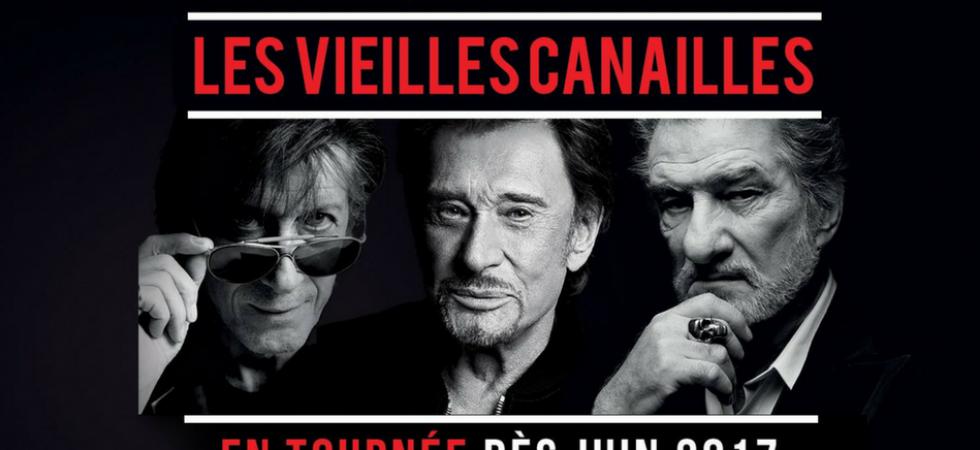 Johnny Hallyday, Eddy Mitchell et Jacques Dutronc repartent en tournée
