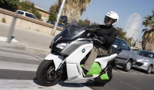 Bmw C evolution Prototype