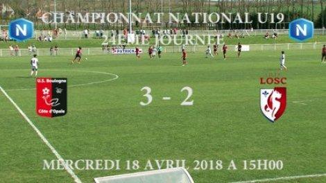 U19 NATIONAL] J24 Résumé USBCO - LOSC sur Orange Vidéos