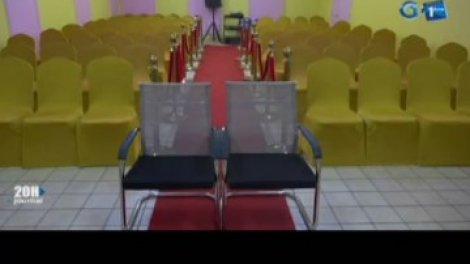 Rtg Presentation De La Nouvelle Salle De Mariage De La Mairie Du 6e Arrondissement De Libreville