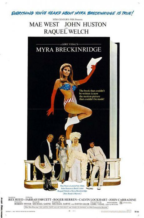 Myra Breckinridge : Affiche