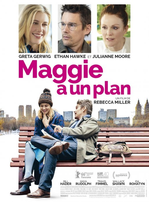 Maggie a un plan : Affiche