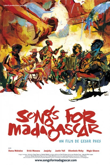 Songs for Madagascar : Affiche