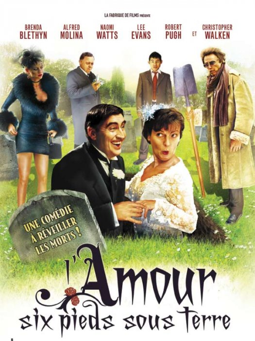 L'Amour, six pieds sous terre : Affiche Alfred Molina, Christopher Walken, Nick Hurran