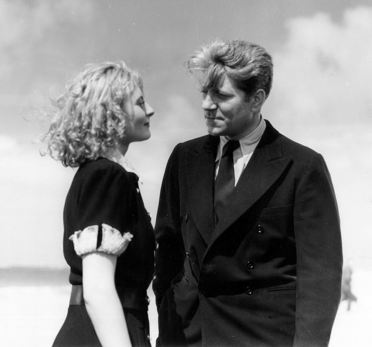 Remorques : Photo Jean Gabin, Michèle Morgan