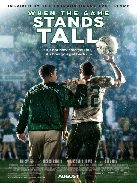 When The Game Stands Tall : Affiche