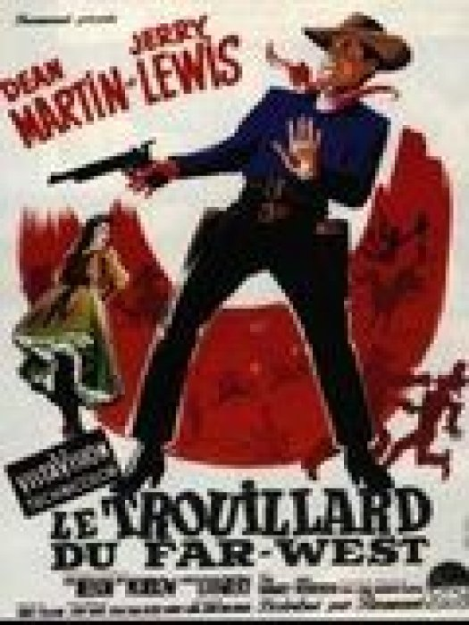 Le Trouillard du Far-West : Affiche