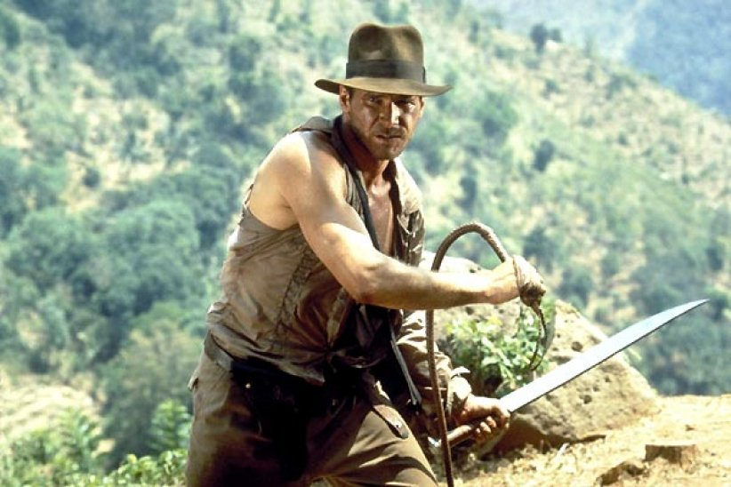 Harrison Ford en Indiana Jones
