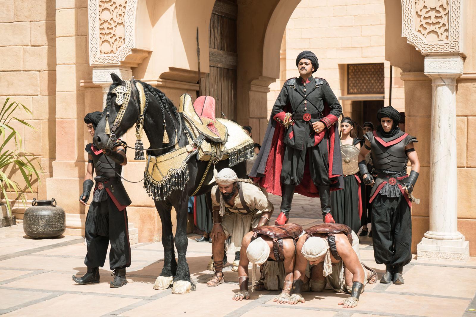 Jamel Debbouze a adoré le tournage de Alad'2