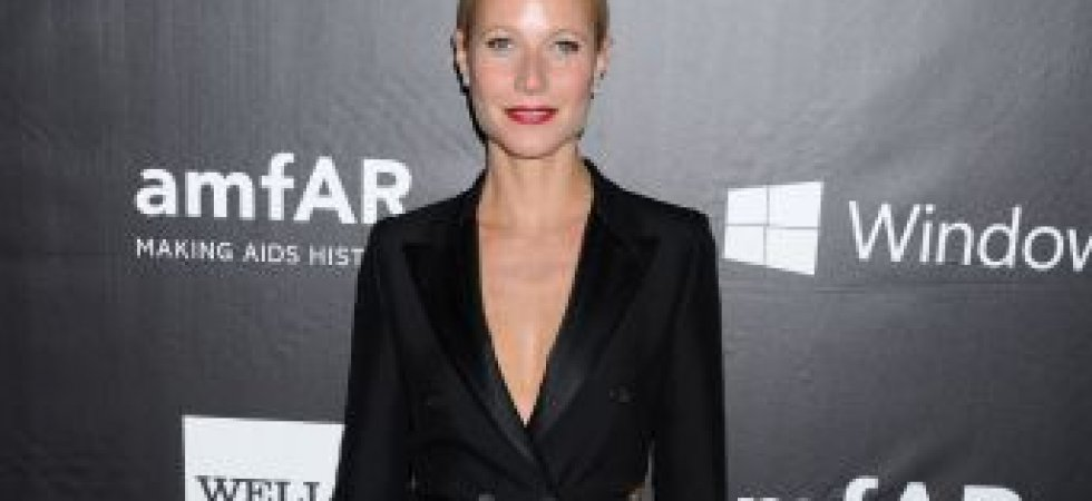 Gwyneth Paltrow, fantastique en costume noir