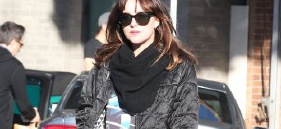 Dakota Johnson : rock'n'roll pour faire du shopping !
