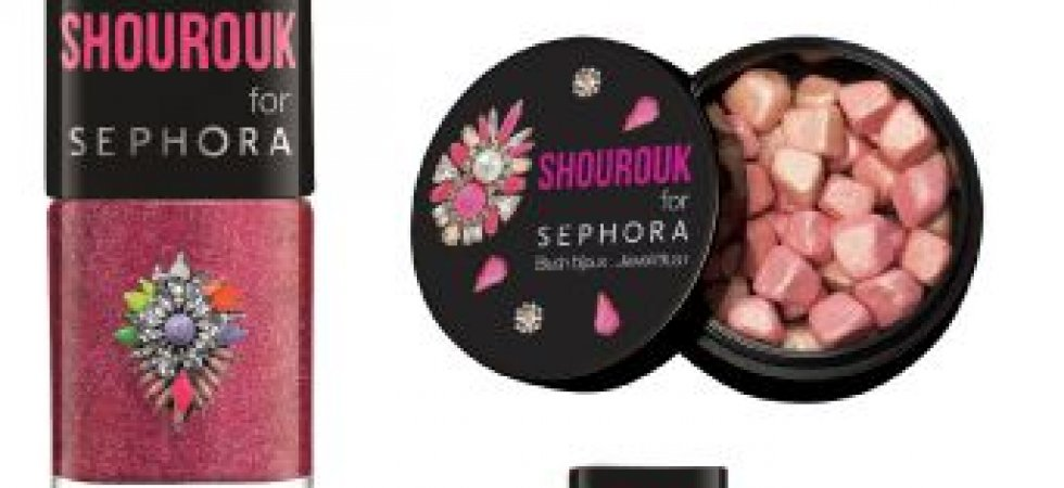 Shourouk for Sephora : une collaboration beauté étincelante