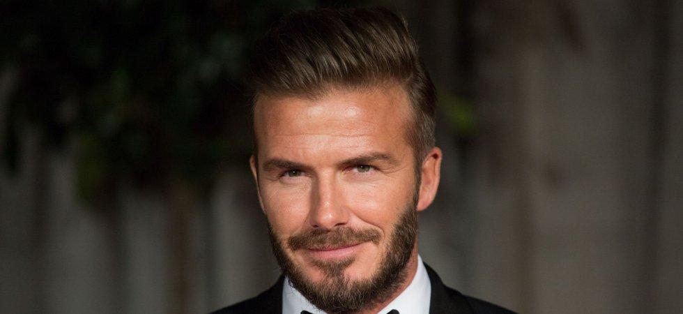 David Beckham élu homme le plus sexy de l'année 2015 !