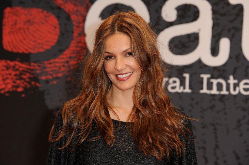 Nadia Fares assiste à la 4e édition du Festival International du Film Policier de Beaune en 2012.