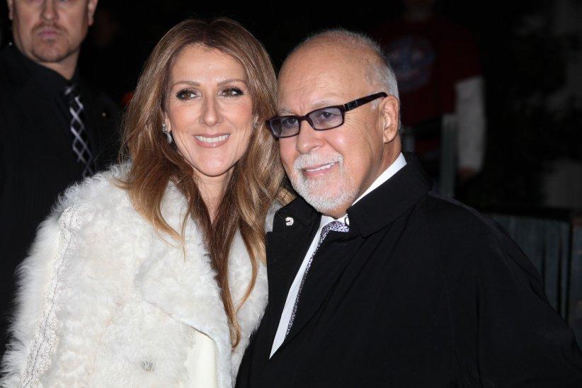 Céline Dion et René Angélil en marge de l\