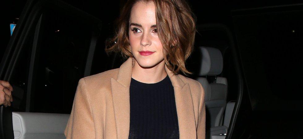 Emma Watson dévoile sa nouvelle coupe de cheveux