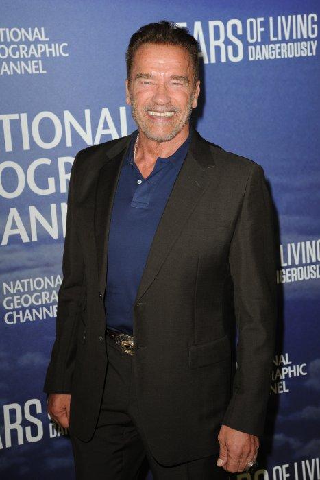 """Arnold Schwarzenegger lors de la première de """"National Geographic\"""