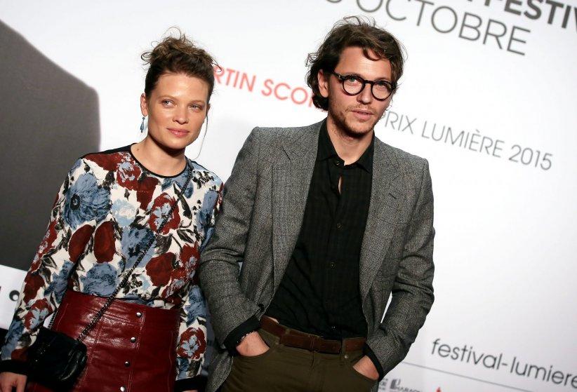 Le chanteur Raphael et sa compagne Mélanie Thierry assistent à la soirée d\