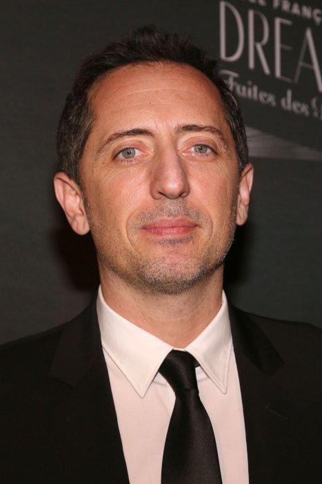 Gad Elmaleh, assiste au Gala du Lycée Français de New York, le 06 février 2016.