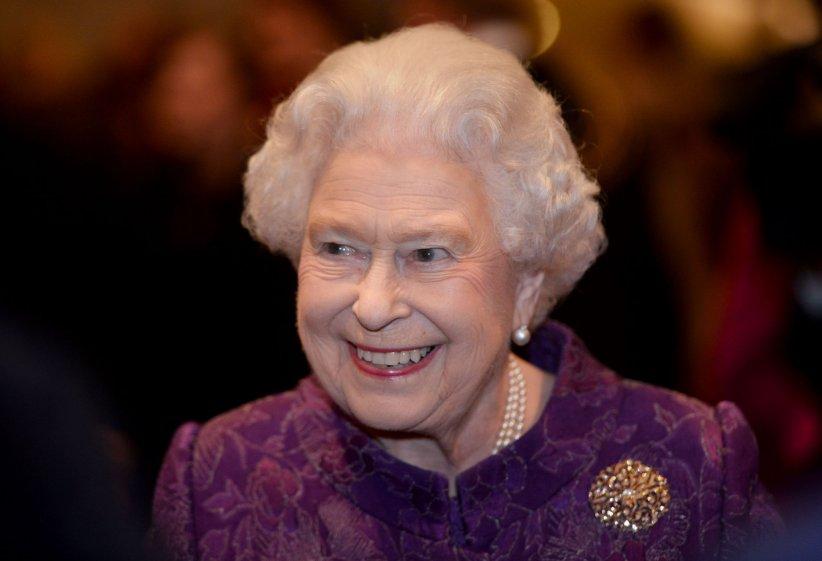 Queen Elizabeth II, en marge d\