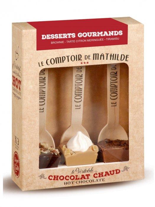 Des bâtonnets pour réaliser de délicieux chocolats chauds maison