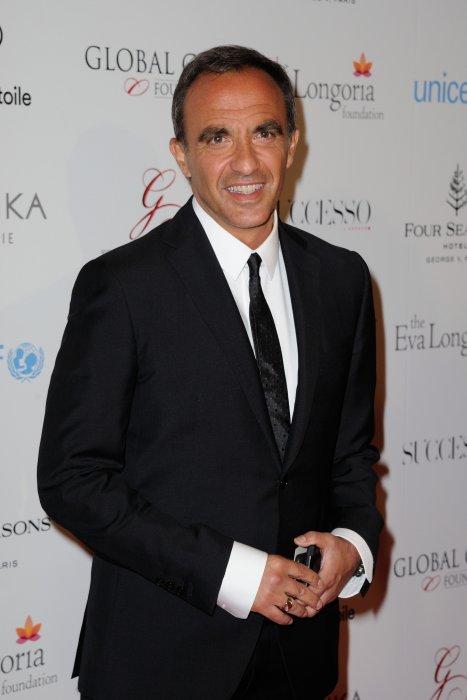 Nikos Aliagas au photocall du Global Gift Gala, organisé à l\