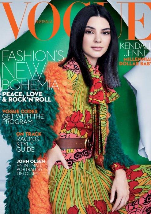 Kendall Jenner en couverture du numéro d\