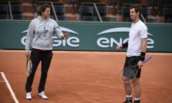 Andy Murray rend hommage à Amélie Mauresmo