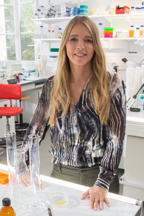 Hélène Rollès lors du tournage coulisses des spots TV du Pasteurdon à l\
