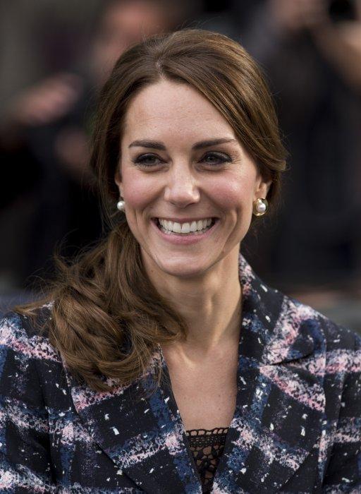 Kate Middleton en marge d\