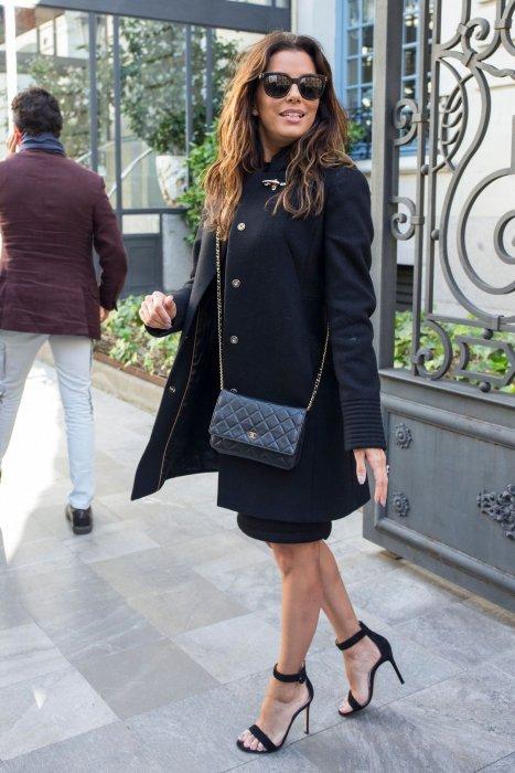 Eva Longoria, sac Chanel sinon rien !