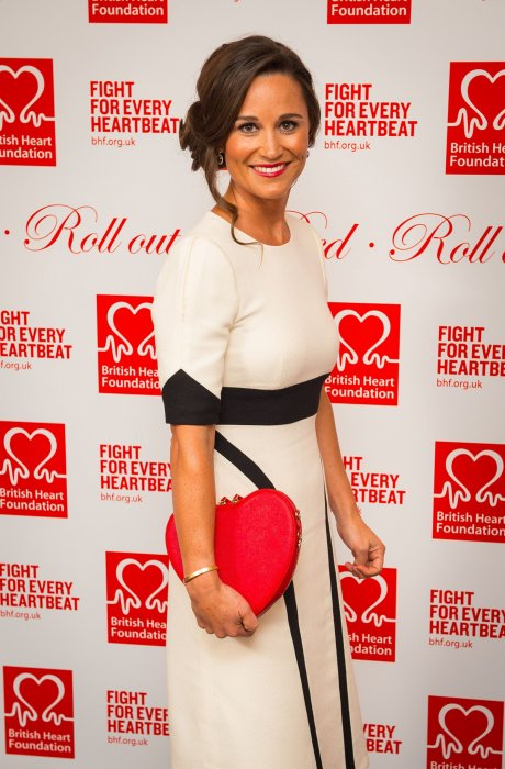 Pippa Middleton lors du bal de la British Heart Foundation, à Londres le 11 février 2016.