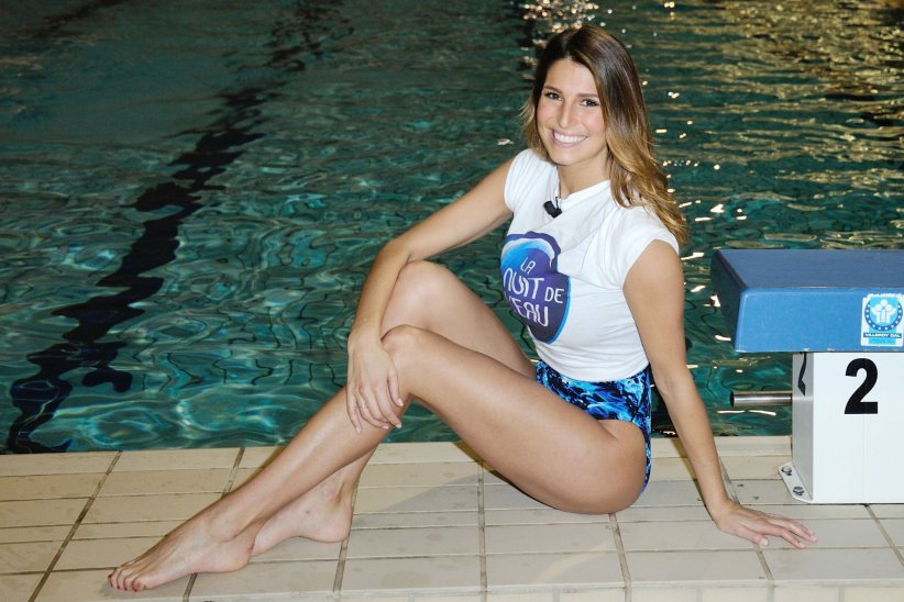 Laury Thilleman, fan de surf, assiste à la 9e édition de La Nuit de l\