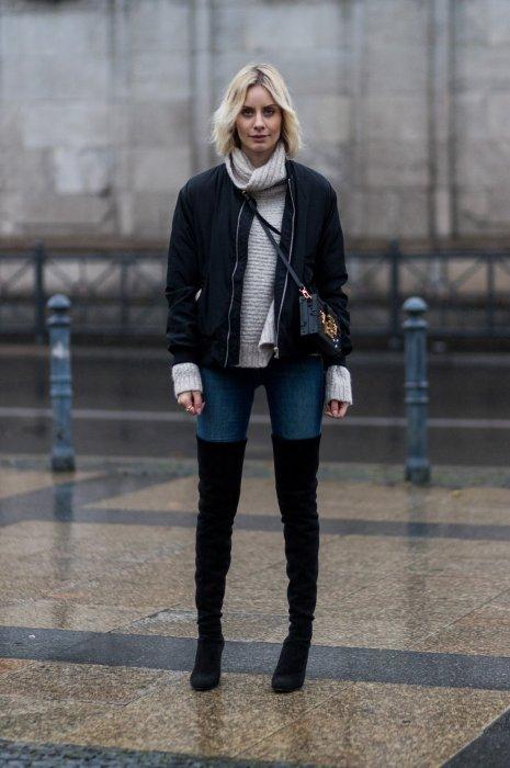 Streetlook de la blogueuse Lisa Hahnbueck (@lisarvd) à Berlin, le 16 novembre 2016.