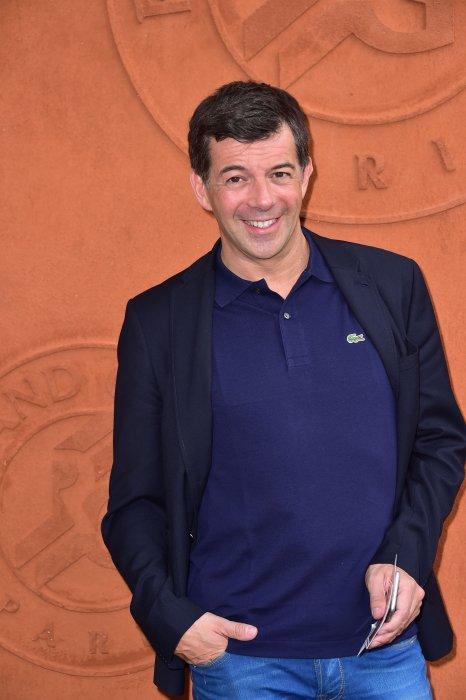 Stéphane Plaza lors du tournoi de Roland Garros à Paris, le 26 mai 2015.