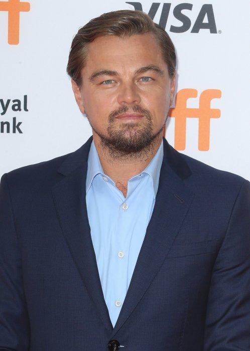 "Leonardo Di Caprio à la première de ""Before The Flood"" à Toronto au Canada, le 9 septembre 2016."