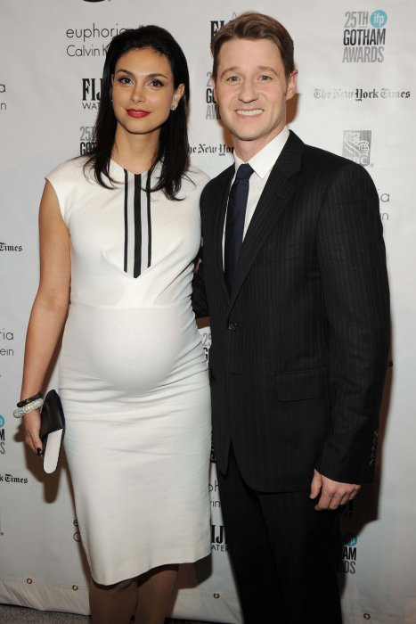Morena Baccarin et Ben McKenzie aux Independent Film Awards à New York en 2015.