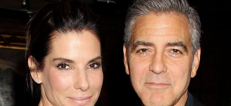 Sandra Bullock revient sur sa rencontre avec George Clooney
