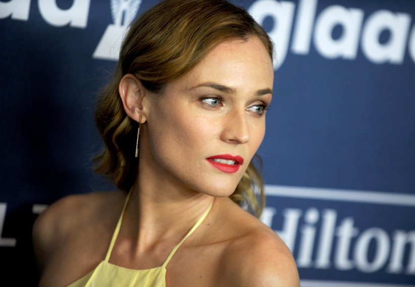 Diane Kruger assiste au 27ème GLAAD Media Awards, le 14 mai 2016 à New York.